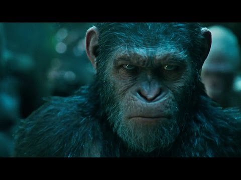 'War for the Planet of the Apes' Official Trailer 2 (2017)