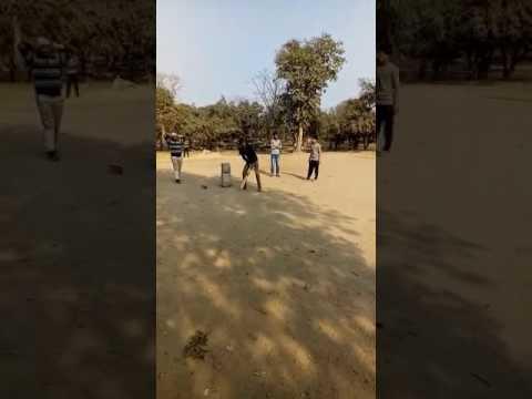 Ajay cricket shots 3 ball and triple six (видео)