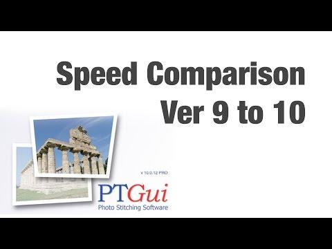 PtGui Comparison version 9 and 10