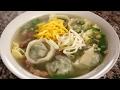 Dumpling soup (Mandu-guk: 만두국)