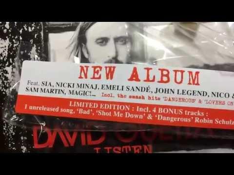 [CD Unboxing] David Guetta - Listen (Limited Edition 2CD)
