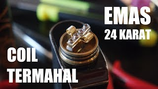Video The Most Expensive Coil Vaporizer (24k Gold) Indonesia MP3, 3GP, MP4, WEBM, AVI, FLV Juli 2018