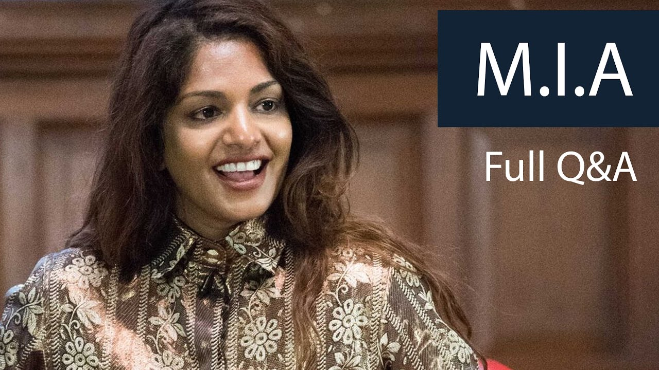 M.I.A | Full Q&A | Oxford Union