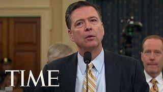 FBI Director James Comey Comments On POTUS Tweet | TIME