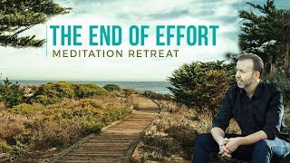 Day 22: The End of Effort--Meditation Retreat