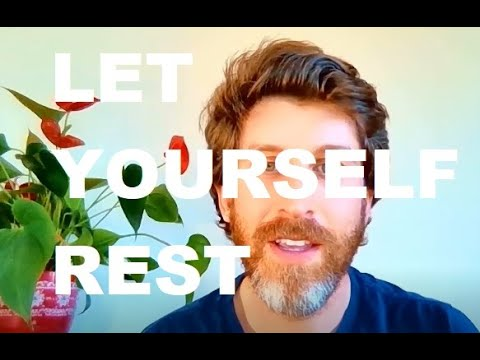 Jeff Foster Video: Let Yourself Rest