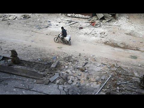 Syrienkrieg: Fassbomben auf Ost-Ghouta