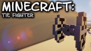 Minecraft: Star Wars: Imperial Tie Fighter Tutorial
