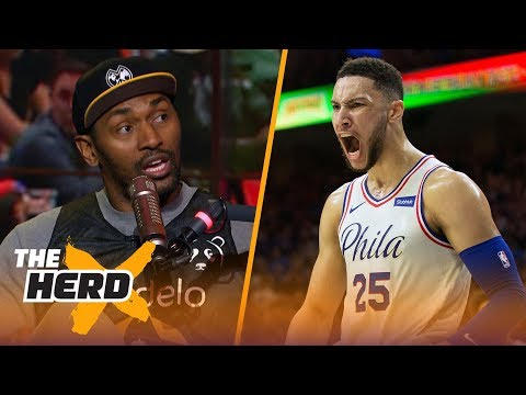 Metta World Peace compares Ben Simmons to LeBron, Reveals the Westbrook Effect | THE HERD