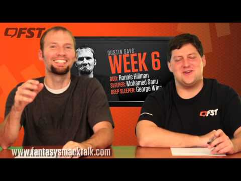 Fantasy Football: Week 6 Fantasy Fix thumbnail