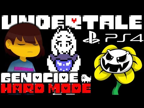 UNDERTALE ON PLAYSTATION IS FINALLY HERE!! | Genocide + Hard Mode [Part 1]