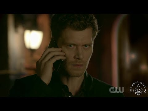 The Originals 5x01 Hope and Klaus talk for the first time in 5 years