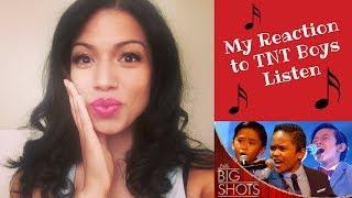 Video My reaction to TNT Boys Listen little big shots UK (Video #10 of 20 day video series) MP3, 3GP, MP4, WEBM, AVI, FLV Agustus 2018