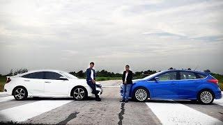 Video Honda Civic 1.5 RS Turbo VS Ford Focus 1.5 Ecoboost EP.1 MP3, 3GP, MP4, WEBM, AVI, FLV November 2017