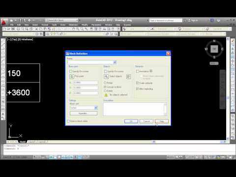 attribute - Learning how to create block attribute tutorial video AutoCAD http://autocadtip.com/how-to-create-block-attribute-in-autocad.html.