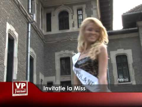 INVITATIE LA MISS