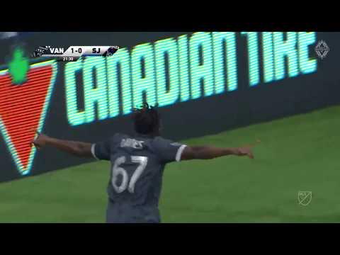 Video: Alphonso Davies Goal vs. San Jose Earthquakes