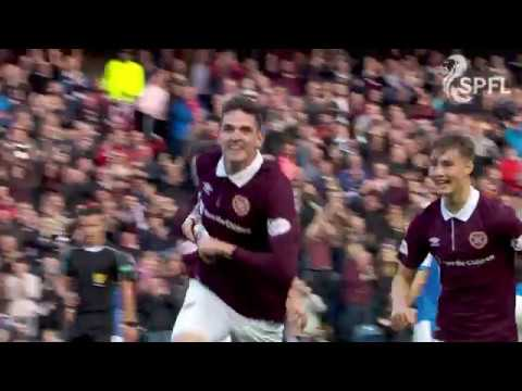 Kyle Lafferty goal sparks memorable Hearts celebrations