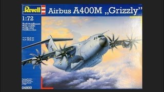 "Video Revell 1/72 Airbus A400M ""Grizzly"" Scale Model Review MP3, 3GP, MP4, WEBM, AVI, FLV Agustus 2018"