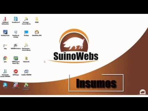 3. Tutorial Insumos en Suinowebs
