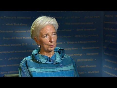 Lagarde: U.S. fiscal cliff a concern