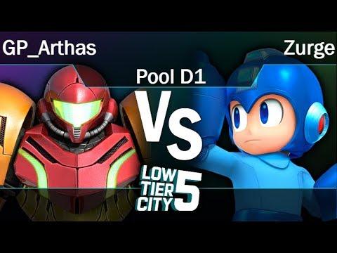 LTC5 5  - GP_Arthas (Samus) vs Zurge (Mega Man) Pool D1 - Smash 4