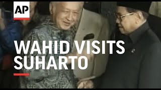 Video INDONESIA: JAKARTA: PRESIDENT WAHID VISITS SUHARTO MP3, 3GP, MP4, WEBM, AVI, FLV November 2018