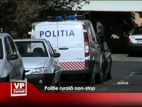 Poliţie rurală non-stop