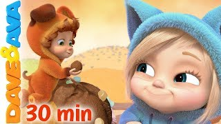 Video 🍨 Nursery Rhymes and Kids Songs | Baby Songs by Dave and Ava 😍 MP3, 3GP, MP4, WEBM, AVI, FLV Mei 2019