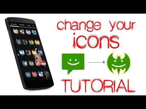Video of Batman icon pack Apex Nova ADW