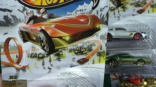 Hot Wheels Holiday Hot Rods 2013 Walmart Singles