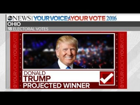Trump Wins Ohio   2016 Election Results