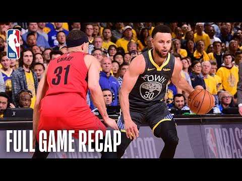 TRAIL BLAZERS Vs WARRIORS | Stephen & Seth Curry Shine In Epic Match-up | Game 2