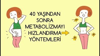 Video 40 Yaş Sonrası Metabolizmayı Hızlandırma Yöntemleri MP3, 3GP, MP4, WEBM, AVI, FLV September 2018