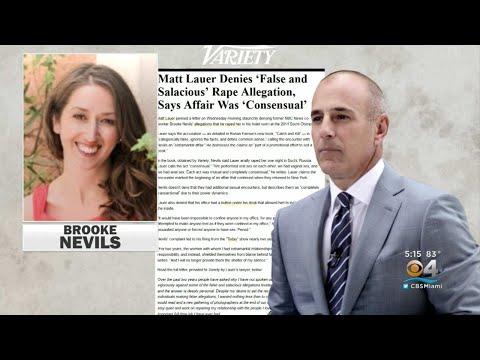 Stunning New Report Reveals Rape Allegation Against Matt Lauer