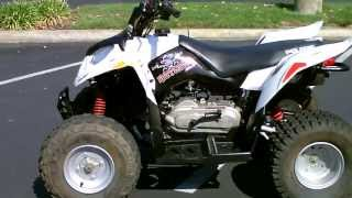7. Contra Costa Powersports-Used 2007 Polaris Outlaw 90 4-stroke 12 yr old & up kiddie quad 4 wheeler