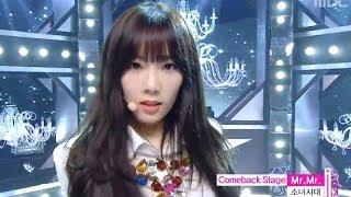 Video Girls' Generation - Mr. Mr., 소녀시대 - 미스터 미스터, Music Core 20140308 MP3, 3GP, MP4, WEBM, AVI, FLV Januari 2019