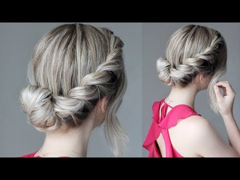 How To: Easy Updo | French Rope Braid