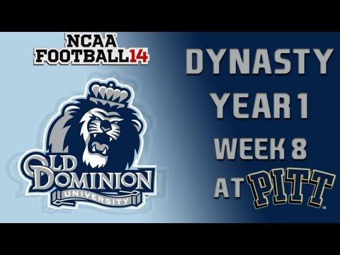 NCAA Football 14 Dynasty - Old Dominion: Episode 9