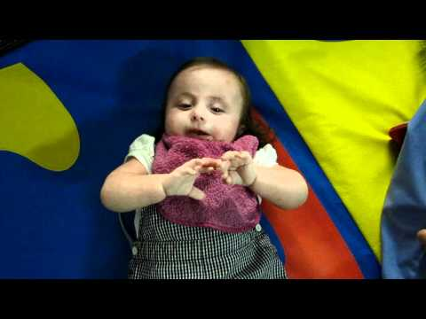 Rebekah Faith - Trisomy 18 - 'Talking' during speech therapy