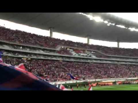 La Irreverente recibimiento vs america 2016 - La Irreverente - Chivas Guadalajara - México - América del Norte