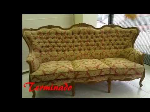 Tapizar sofa precio videos videos relacionados con - Como tapizar un sofa en casa ...
