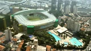 Campo do Palmeiras em 2014.