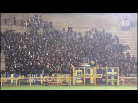 Ultras VERONA in trasferta a Bologna