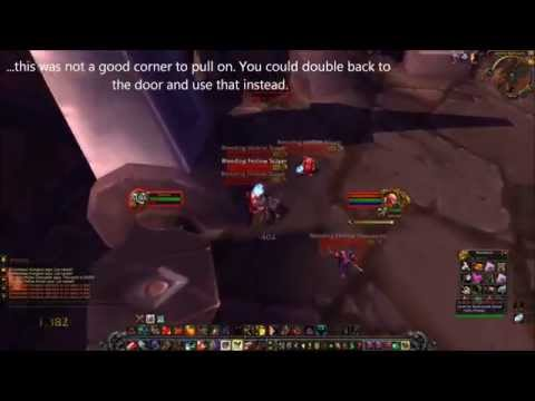 mop looting - Running a prot warrior through Hellfire Ramparts in the MoP Beta to check the viability of farming old content with AoE looting. Went with Double Time, Impen...