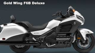 9. FIRST LOOK   2017 Honda Gold Wing F6B Deluxe