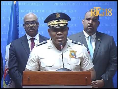 La rencontre du Conseil Supérieur de la Police Nationale (CSPN) / 6 juin 2017.