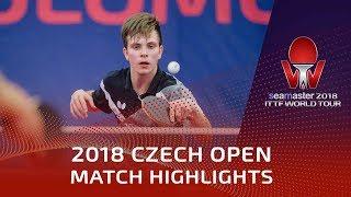 Vladimir Sidorenko vs Jakub Dyjas | 2018 Czech Open