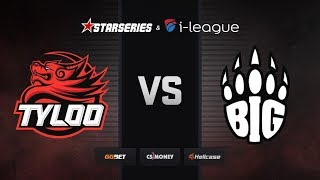 [RU] BIG vs TYLOO | Map 3 – Train | Part 2 | StarSeries i-League Season 7