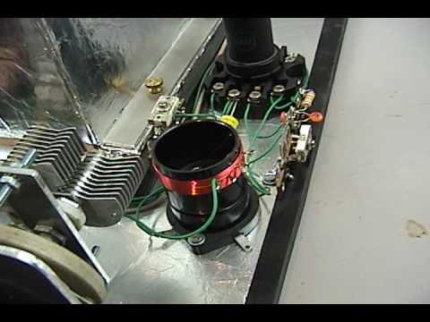 KC9KEP Homemade superheterodyne 80m radio handwound coils